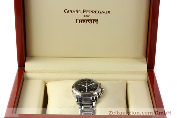 Used luxury watch Girard Perregaux Ferrari chronograph steel automatic Kal. 2280-731 Ref. 8020  | 150035 07