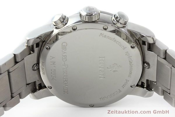 Used luxury watch Girard Perregaux Ferrari chronograph steel automatic Kal. 2280-731 Ref. 8020  | 150035 09