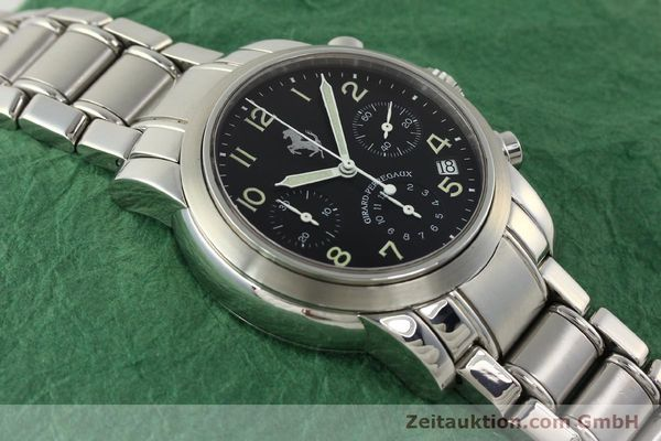 Used luxury watch Girard Perregaux Ferrari chronograph steel automatic Kal. 2280-731 Ref. 8020  | 150035 14