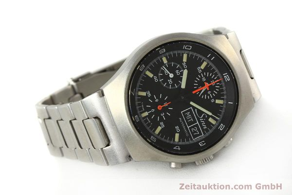 Used luxury watch Sinn 157 chronograph steel automatic Kal. 5100  | 150037 03