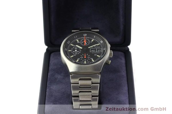 Used luxury watch Sinn 157 chronograph steel automatic Kal. 5100  | 150037 07