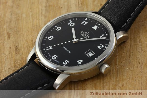 Used luxury watch Union Glashütte Tradition Flieger steel automatic Kal. 26 Ref. 2611090210  | 150040 01
