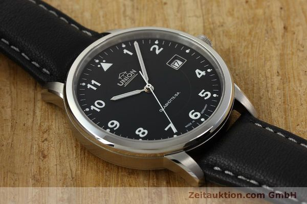 montre de luxe d occasion Union Glashütte Tradition Flieger acier automatique Kal. 26 Ref. 2611090210  | 150040 16