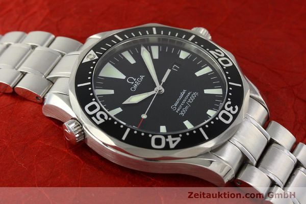 Used luxury watch Omega Seamaster steel quartz Kal. 1538  | 150041 15