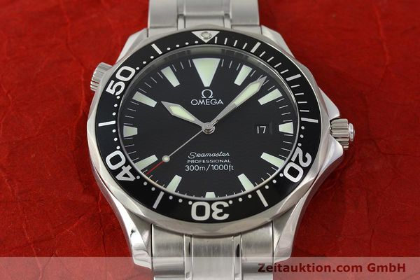 Used luxury watch Omega Seamaster steel quartz Kal. 1538  | 150041 16
