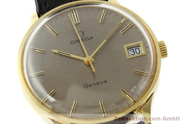 Used luxury watch Omega * 18 ct gold manual winding Kal. 1030 VINTAGE  | 150045 02