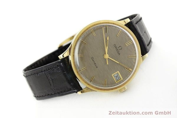 Used luxury watch Omega * 18 ct gold manual winding Kal. 1030 VINTAGE  | 150045 03
