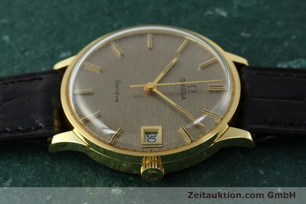 Used luxury watch Omega * 18 ct gold manual winding Kal. 1030 VINTAGE  | 150045 05