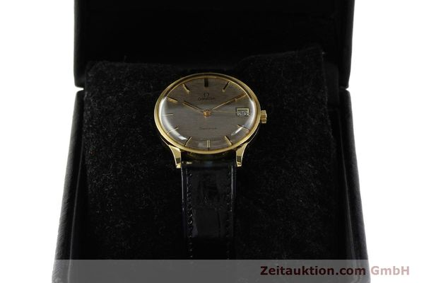 Used luxury watch Omega * 18 ct gold manual winding Kal. 1030 VINTAGE  | 150045 07