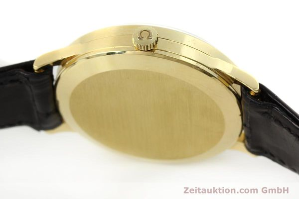 Used luxury watch Omega * 18 ct gold manual winding Kal. 1030 VINTAGE  | 150045 11