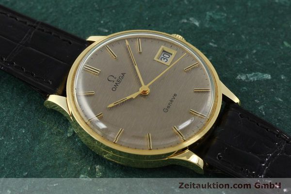 Used luxury watch Omega * 18 ct gold manual winding Kal. 1030 VINTAGE  | 150045 15