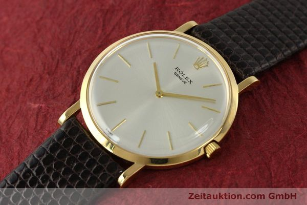 Used luxury watch Rolex * 18 ct gold manual winding Kal. 650 Ref. 9576  | 150046 01