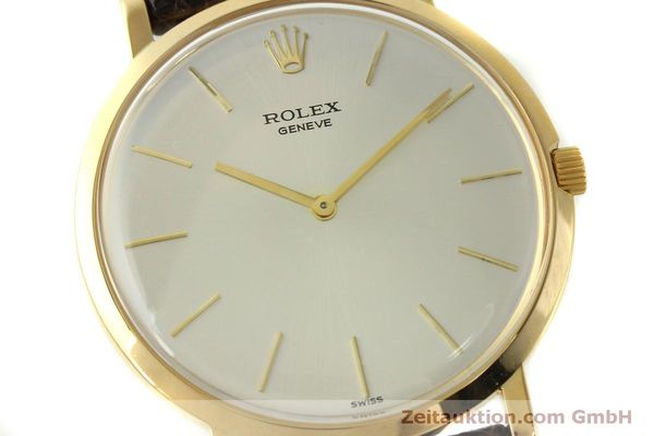 Used luxury watch Rolex * 18 ct gold manual winding Kal. 650 Ref. 9576  | 150046 02