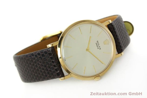 Used luxury watch Rolex * 18 ct gold manual winding Kal. 650 Ref. 9576  | 150046 03