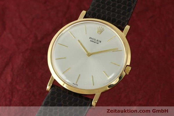 Used luxury watch Rolex * 18 ct gold manual winding Kal. 650 Ref. 9576  | 150046 04