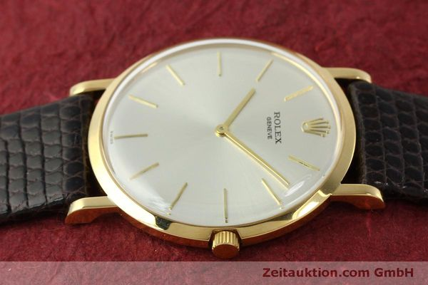 Used luxury watch Rolex * 18 ct gold manual winding Kal. 650 Ref. 9576  | 150046 05