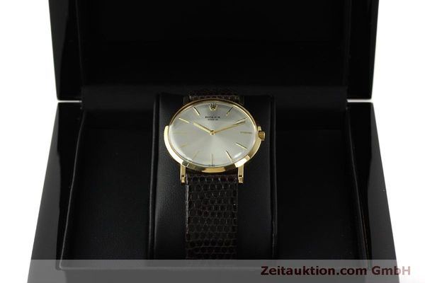 Used luxury watch Rolex * 18 ct gold manual winding Kal. 650 Ref. 9576  | 150046 07