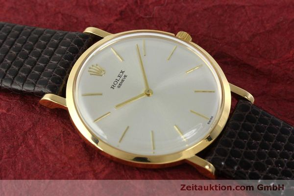 Used luxury watch Rolex * 18 ct gold manual winding Kal. 650 Ref. 9576  | 150046 13