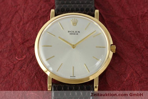 Used luxury watch Rolex * 18 ct gold manual winding Kal. 650 Ref. 9576  | 150046 14