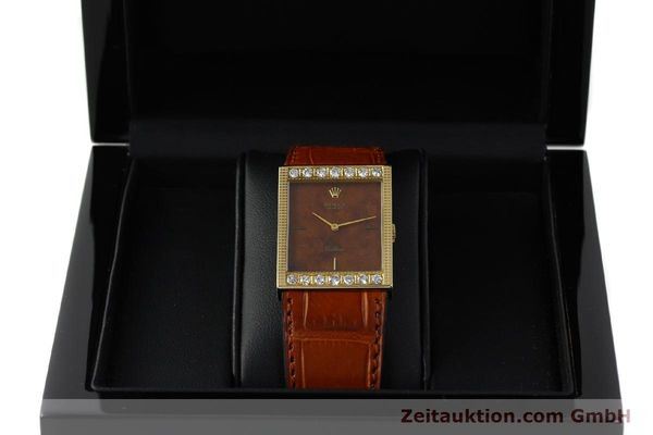 Used luxury watch Rolex Cellini 18 ct gold manual winding Kal. 1601 Ref. 4127/1139  | 150047 07