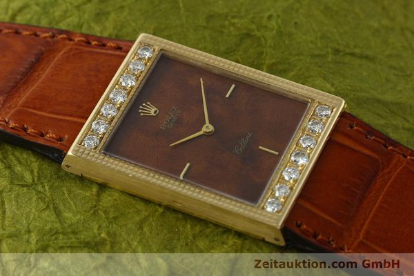 Used luxury watch Rolex Cellini 18 ct gold manual winding Kal. 1601 Ref. 4127/1139  | 150047 14