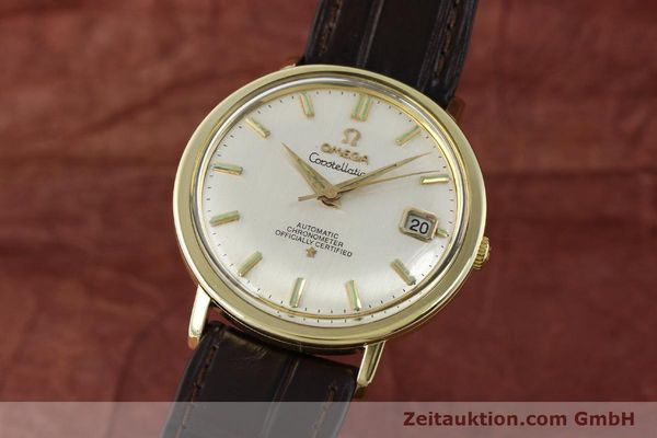 Used luxury watch Omega Constellation steel / gold automatic Kal. 561 Ref. 168.004  | 150049 04
