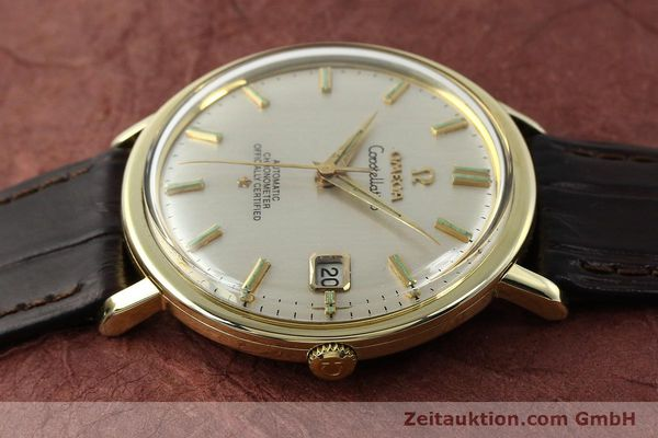 Used luxury watch Omega Constellation steel / gold automatic Kal. 561 Ref. 168.004  | 150049 05