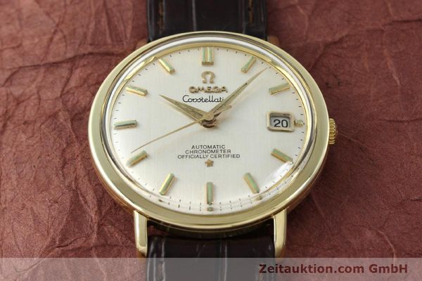 Used luxury watch Omega Constellation steel / gold automatic Kal. 561 Ref. 168.004  | 150049 14