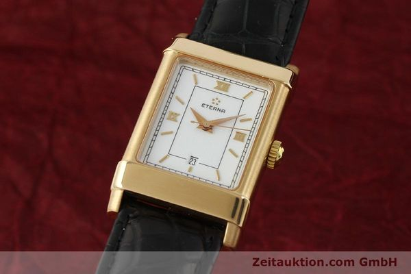 Used luxury watch Eterna 1935 18 ct gold automatic Kal. ETA 2671 Ref. A2472  | 150051 04