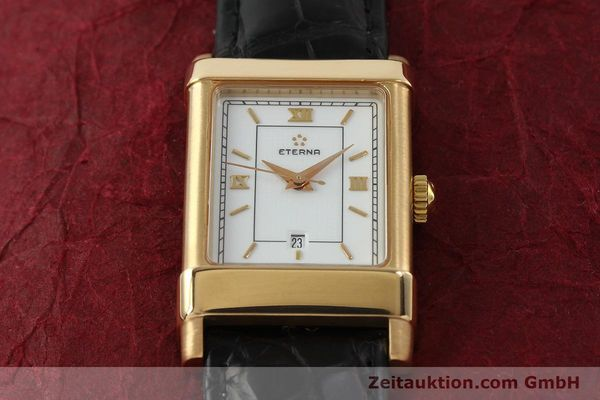 Used luxury watch Eterna 1935 18 ct gold automatic Kal. ETA 2671 Ref. A2472  | 150051 15