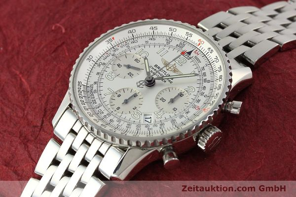 Used luxury watch Breitling Navitimer chronograph steel automatic Kal. B23 Ref. A23322  | 150059 01