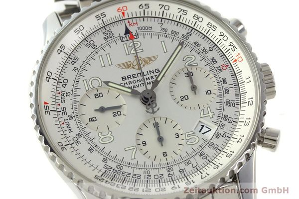 Used luxury watch Breitling Navitimer chronograph steel automatic Kal. B23 Ref. A23322  | 150059 02