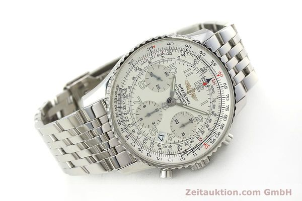 Used luxury watch Breitling Navitimer chronograph steel automatic Kal. B23 Ref. A23322  | 150059 03