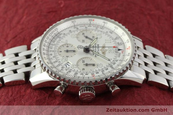Used luxury watch Breitling Navitimer chronograph steel automatic Kal. B23 Ref. A23322  | 150059 05