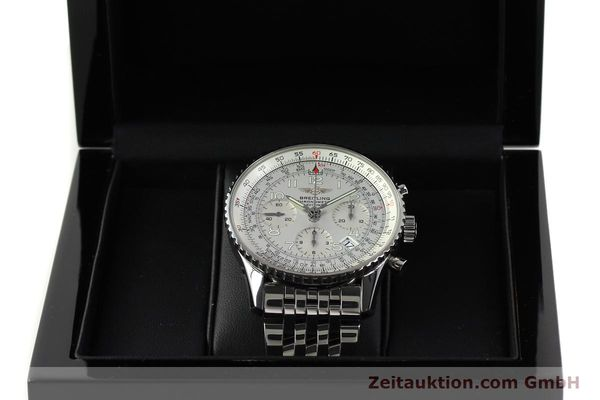 Used luxury watch Breitling Navitimer chronograph steel automatic Kal. B23 Ref. A23322  | 150059 07