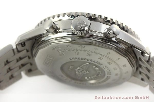 Used luxury watch Breitling Navitimer chronograph steel automatic Kal. B23 Ref. A23322  | 150059 08