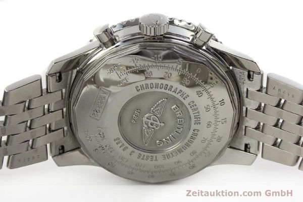 Used luxury watch Breitling Navitimer chronograph steel automatic Kal. B23 Ref. A23322  | 150059 09