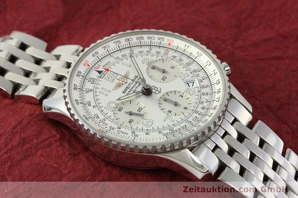 Used luxury watch Breitling Navitimer chronograph steel automatic Kal. B23 Ref. A23322  | 150059 14