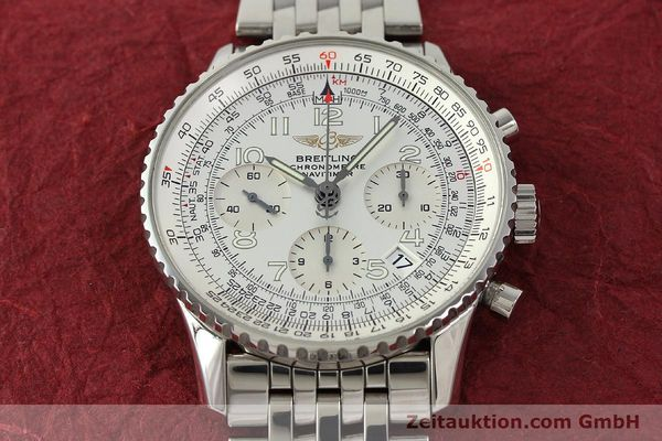 Used luxury watch Breitling Navitimer chronograph steel automatic Kal. B23 Ref. A23322  | 150059 15