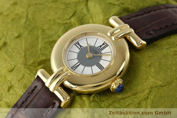 Used luxury watch Cartier Vermeil silver-gilt quartz Kal. 90  | 150063 01