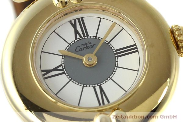 Used luxury watch Cartier Vermeil silver-gilt quartz Kal. 90  | 150063 02