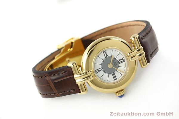 Used luxury watch Cartier Vermeil silver-gilt quartz Kal. 90  | 150063 03