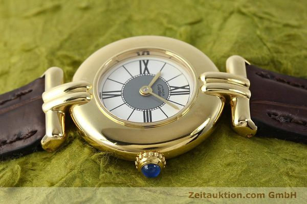 Used luxury watch Cartier Vermeil silver-gilt quartz Kal. 90  | 150063 05