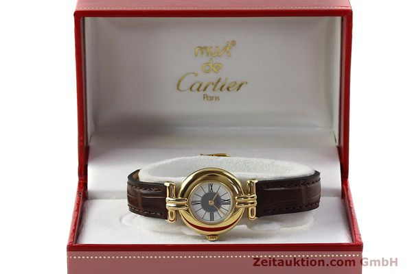 Used luxury watch Cartier Vermeil silver-gilt quartz Kal. 90  | 150063 07