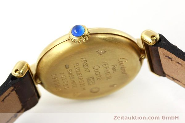 Used luxury watch Cartier Vermeil silver-gilt quartz Kal. 90  | 150063 10