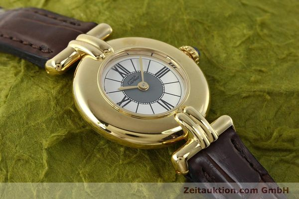 Used luxury watch Cartier Vermeil silver-gilt quartz Kal. 90  | 150063 12