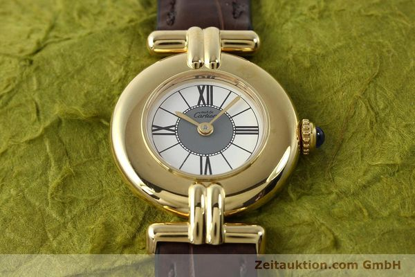 Used luxury watch Cartier Vermeil silver-gilt quartz Kal. 90  | 150063 13