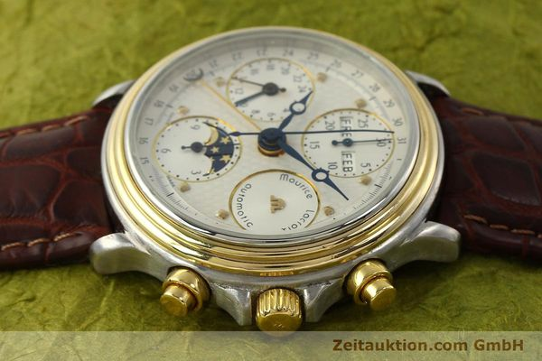 Used luxury watch Maurice Lacroix Phase de Lune  chronograph steel / gold automatic Kal. ETA Ref. 02336  | 150068 05
