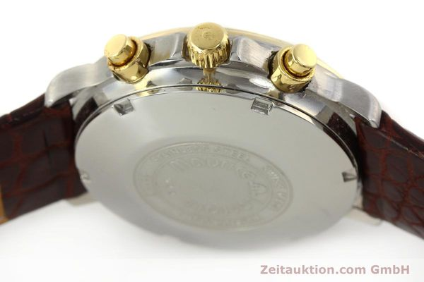 Used luxury watch Maurice Lacroix Phase de Lune  chronograph steel / gold automatic Kal. ETA Ref. 02336  | 150068 08