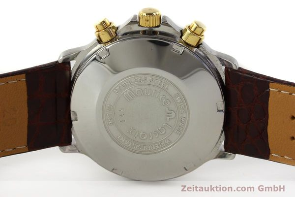 Used luxury watch Maurice Lacroix Phase de Lune  chronograph steel / gold automatic Kal. ETA Ref. 02336  | 150068 09
